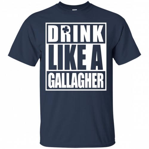 Drink like A Gallagher t-shirt, long sleeve - image 2 500x500