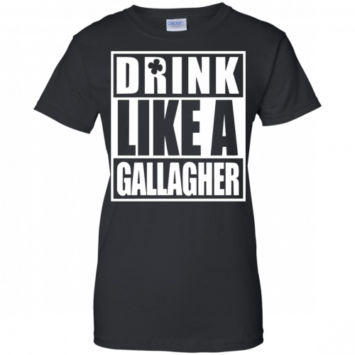 Drink like A Gallagher t-shirt, long sleeve - image 5 500x500