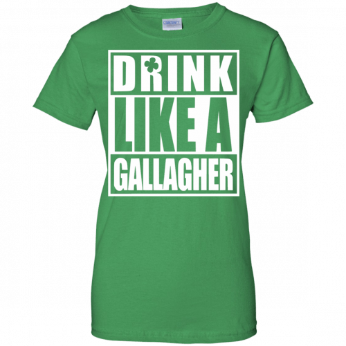 Drink like A Gallagher t-shirt, long sleeve - image 6 500x500