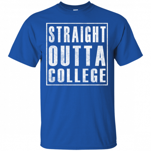 Graduate 2017: Straight Outta College t-shirt - image 118 500x500