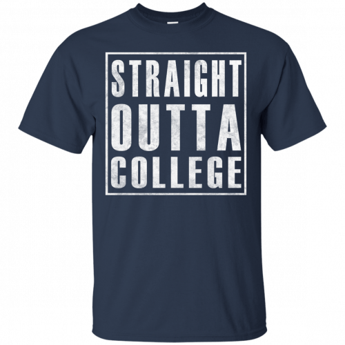 Graduate 2017: Straight Outta College t-shirt - image 119 500x500