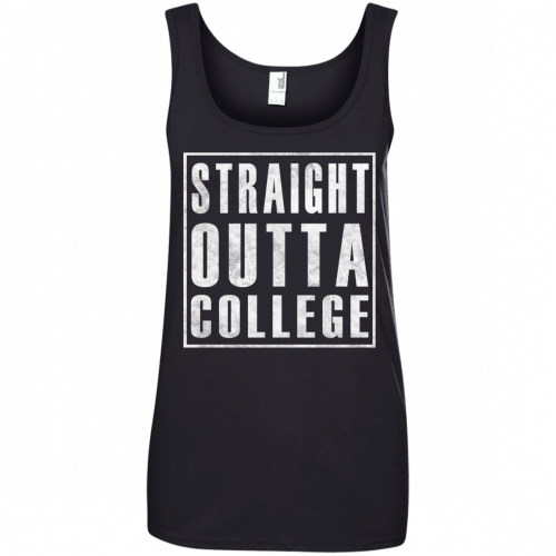 Graduate 2017: Straight Outta College t-shirt - image 126 500x500