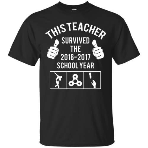This Teacher Survived The 2016 2017 School Year t-shirt - image 176 500x500