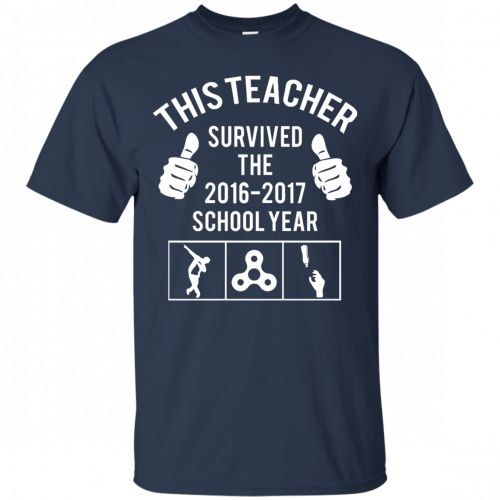 This Teacher Survived The 2016 2017 School Year t-shirt - image 177 500x500