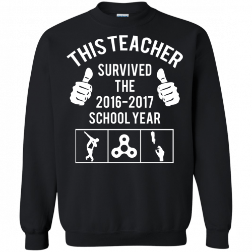 This Teacher Survived The 2016 2017 School Year t-shirt - image 184 500x500