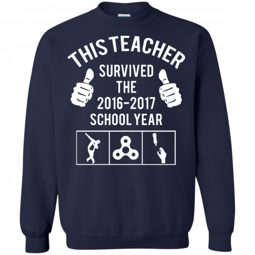 This Teacher Survived The 2016 2017 School Year t-shirt - image 185 500x500