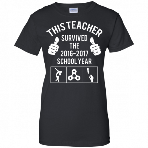 This Teacher Survived The 2016 2017 School Year t-shirt - image 186 500x500