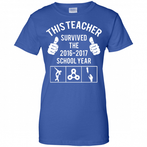 This Teacher Survived The 2016 2017 School Year t-shirt - image 187 500x500