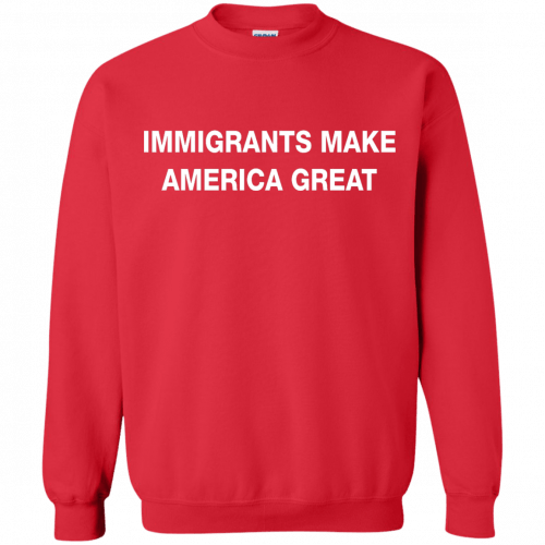Immigrants Make America Great t-shirt - image 233 500x500