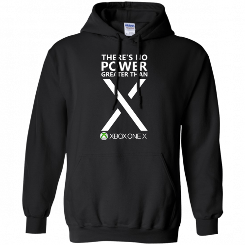 Xbox one X - There's No Power Greater Than X t-shirt - image 276 500x500