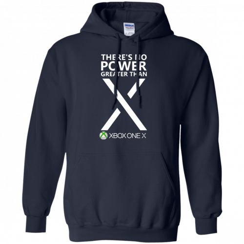 Xbox one X - There's No Power Greater Than X t-shirt - image 277 500x500