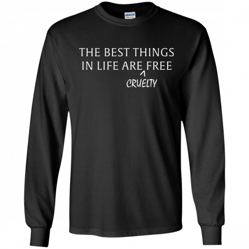 The best things in life are Cruelty free tshirt, racerback, tank - image 1046 500x500