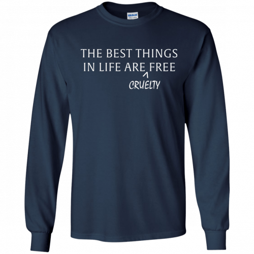 The best things in life are Cruelty free tshirt, racerback, tank - image 1047 500x500