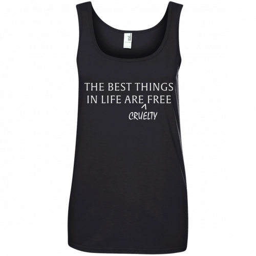 The best things in life are Cruelty free tshirt, racerback, tank - image 1050 500x500