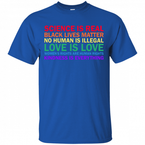 Tom Hanks: science is real black lives matter shirt, hoodie, sweater - image 1171 500x500