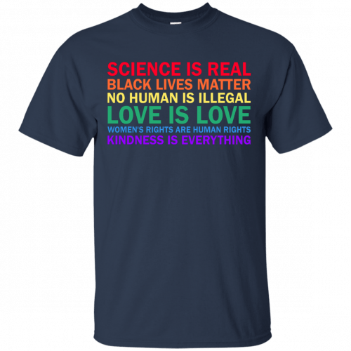 Tom Hanks: science is real black lives matter shirt, hoodie, sweater - image 1172 500x500