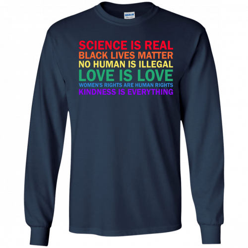 Tom Hanks: science is real black lives matter shirt, hoodie, sweater - image 1175 500x500