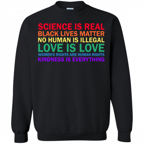 Tom Hanks: science is real black lives matter shirt, hoodie, sweater - image 1178 500x500