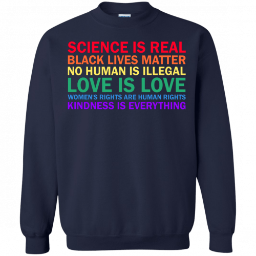 Tom Hanks: science is real black lives matter shirt, hoodie, sweater - image 1179 500x500