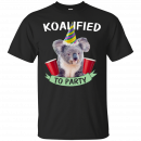 Koalified to Party t-shirt - image 140 130x130