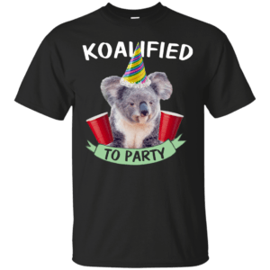 Koalified to Party t-shirt - image 140 300x300