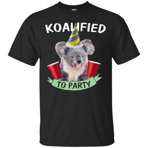 Koalified to Party t-shirt - image 140 500x500