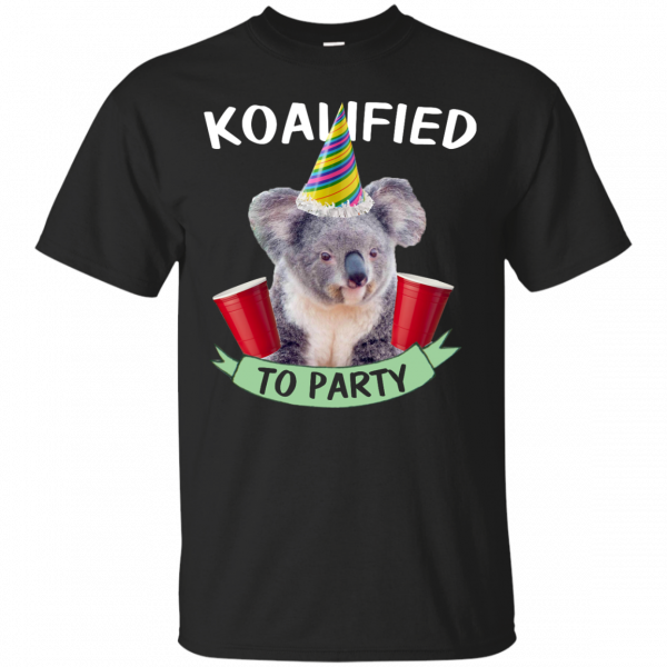 Koalified to Party t-shirt - image 140 600x600