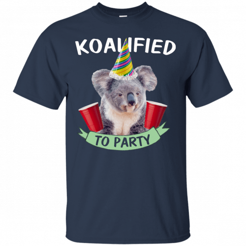 Koalified to Party t-shirt - image 142 500x500