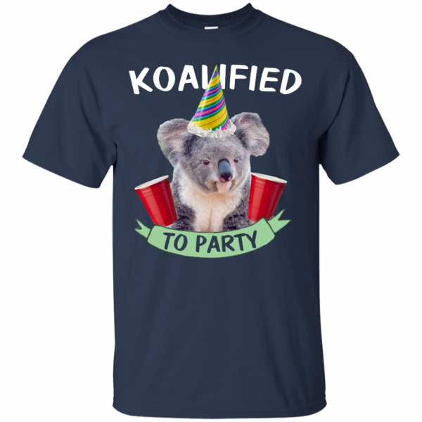Koalified to Party t-shirt - image 142 600x600