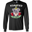 Koalified to Party t-shirt - image 144 130x130