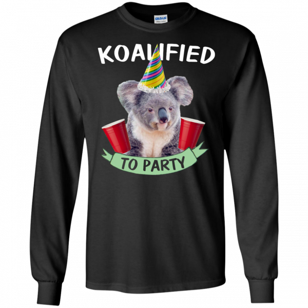 Koalified to Party t-shirt - image 144 600x600