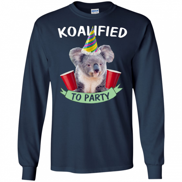 Koalified to Party t-shirt - image 145 600x600