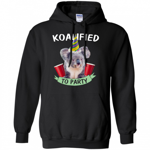 Koalified to Party t-shirt - image 146 600x600