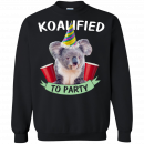 Koalified to Party t-shirt - image 148 130x130