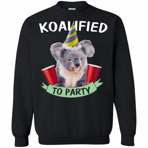 Koalified to Party t-shirt - image 148 500x500