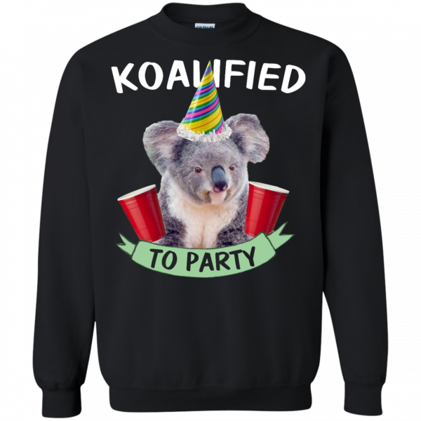 Koalified to Party t-shirt - image 148 600x600