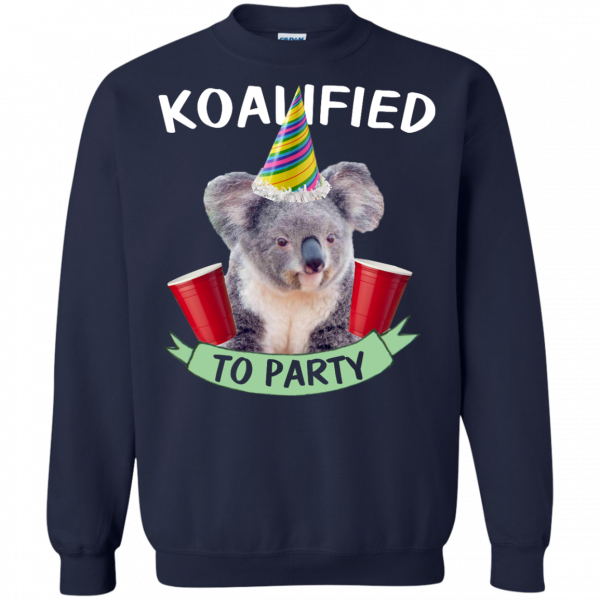 Koalified to Party t-shirt - image 149 600x600