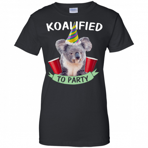 Koalified to Party t-shirt - image 150 500x500