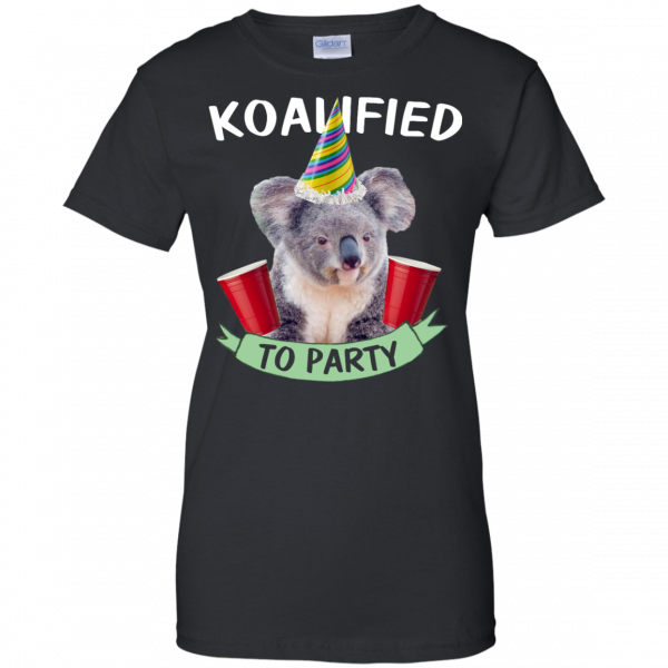 Koalified to Party t-shirt - image 150 600x600