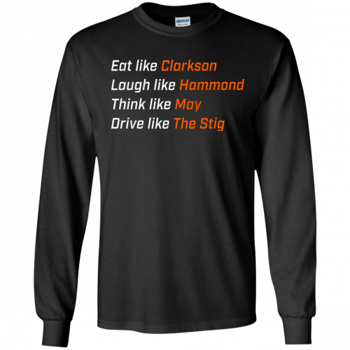 The Grand Tour: Eat like Clarkson t-shirt, hoodie - image 1649 500x500