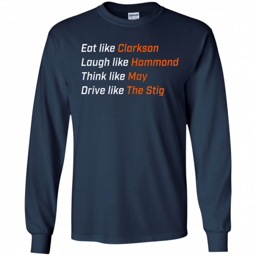 The Grand Tour: Eat like Clarkson t-shirt, hoodie - image 1650 500x500