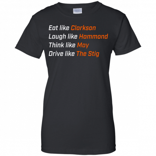 The Grand Tour: Eat like Clarkson t-shirt, hoodie - image 1655 500x500