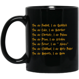 Harry Potter: You say Football I say Quidditch mugs - image 177 300x300
