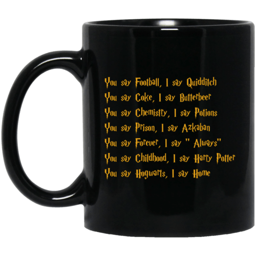 Harry Potter: You say Football I say Quidditch mugs - image 177 500x500