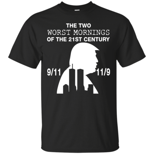 9/11 and 11/9 ,The two worst mornings shirt, hoodie - image 1976 500x500