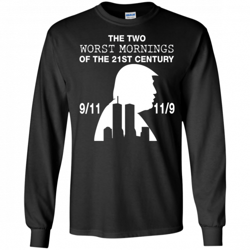 9/11 and 11/9 ,The two worst mornings shirt, hoodie - image 1981 500x500
