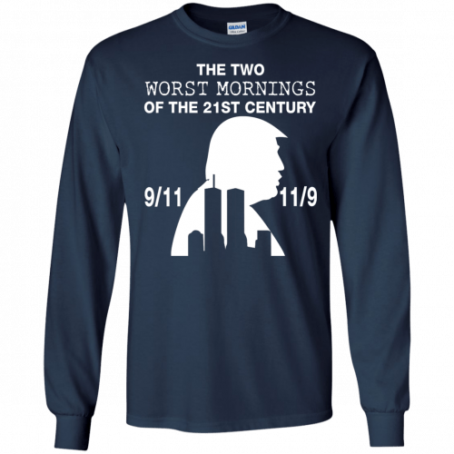 9/11 and 11/9 ,The two worst mornings shirt, hoodie - image 1982 500x500