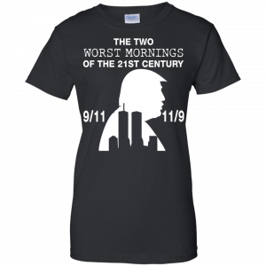 9/11 and 11/9 ,The two worst mornings shirt, hoodie - image 1987 300x300