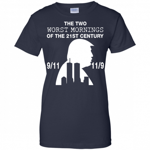 9/11 and 11/9 ,The two worst mornings shirt, hoodie - image 1988 500x500