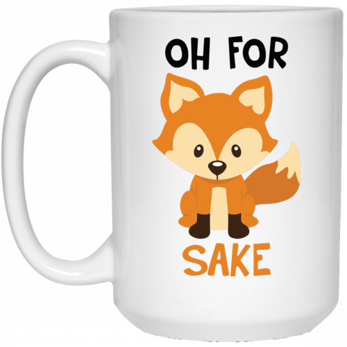 Oh For Fox Sake coffee mugs - image 2146 500x500